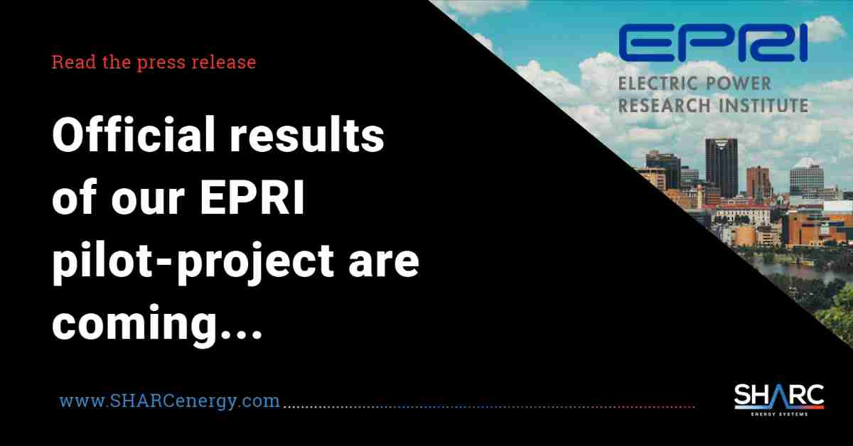 SHARC results of EPRI wastewater heat recovery sustainability